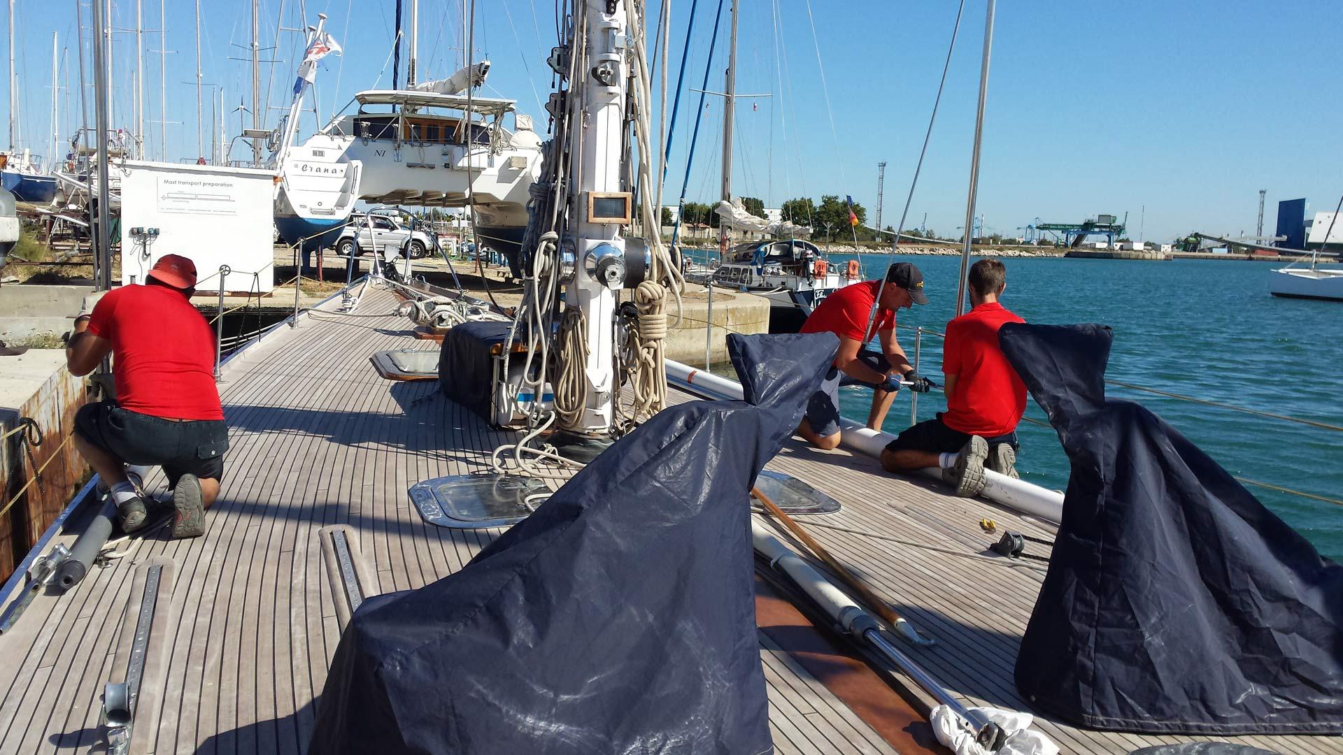 Navy service Port à sec Port saint louis du rhône