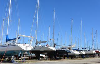 Stationnement port à sec paca Bouches du rhône Navy service