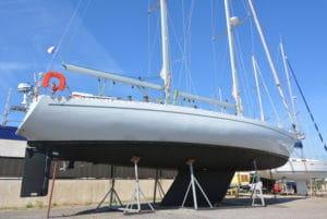 goelette aluminium à port navy service