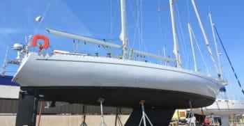 Port à sec Port Navy Service - Goelette aluminium