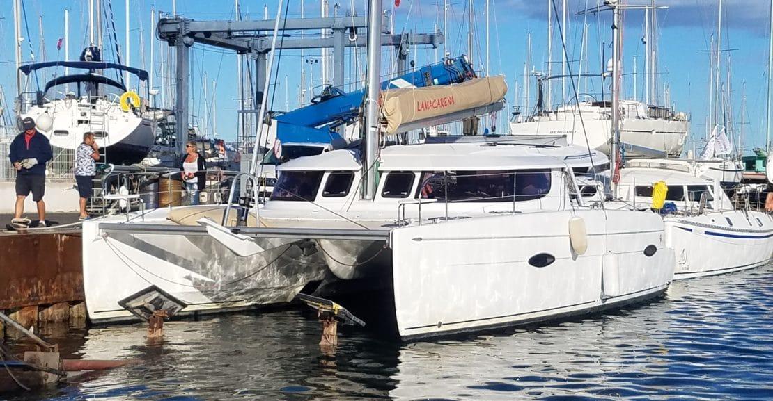 Port à sec Port Navy Service - Catamaran lipari 41