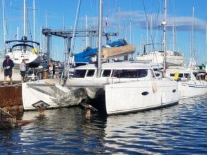 catamaran lipari 41 port navy service