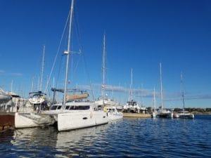 manutention catamaran