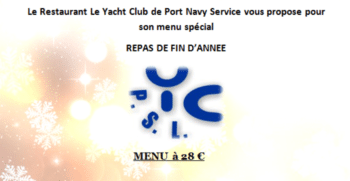 Port Navy Service - Menu du restaurant