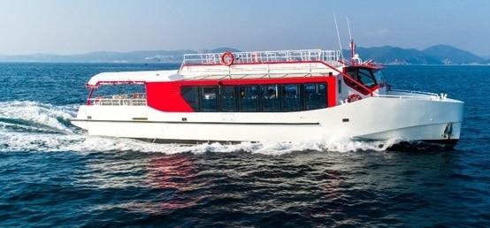 Port à sec - Transport vedette a passagers
